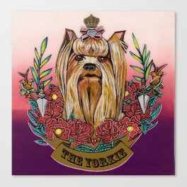 The Yorkie 2 Canvas Print