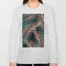 Palm Leaves - Cali Vibes #2 #tropical #decor #art #society6 Long Sleeve T-shirt