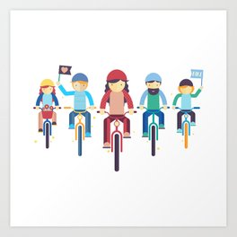 Critical Mass Art Print