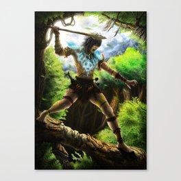 Tribe Warrior Canvas Print