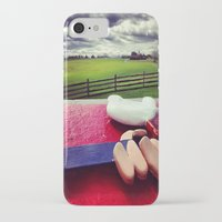 woodstock iPhone & iPod Cases featuring Woodstock by Leah Galant