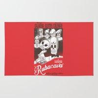 casablanca Area & Throw Rugs featuring Rubacava by Hoborobo