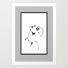 Heavy In Your Arms Art Print