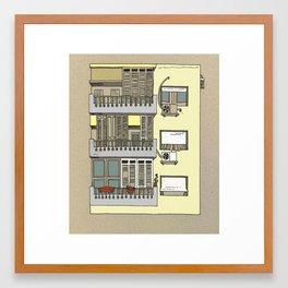 Building nr3 Framed Art Print