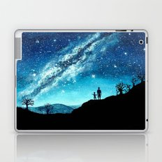 Starry Night Sky Laptop & iPad Skin