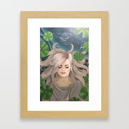 Whale Spirit 1  Framed Art Print