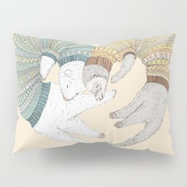 Ferret Sleep Love Pillow Sham