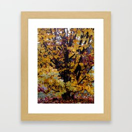 Paintography Of Autumn Framed Art Print