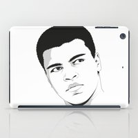 ali iPad Cases featuring Ali II by Renan Lacerda