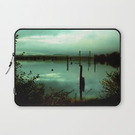 Green Bridge  Laptop Sleeve