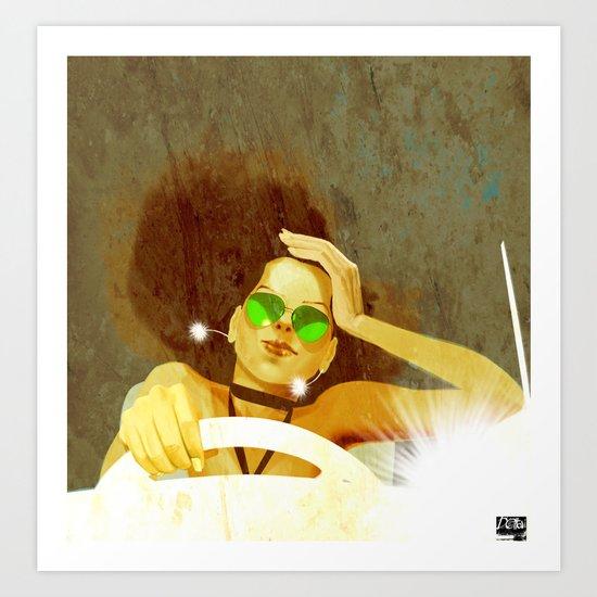 DRiVeR Art Print