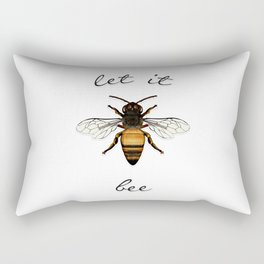 Let it Bee Rectangular Pillow