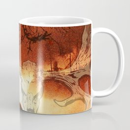 Black Metal SpiriT of the LakE / Moose Skull Coffee Mug