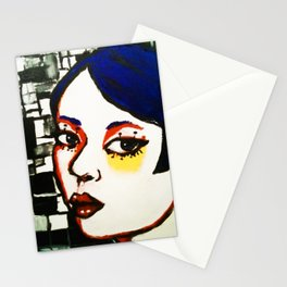 Mon Adrienne' (portrait) Stationery Cards