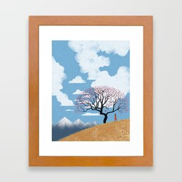 The spring thaw Framed Art Print
