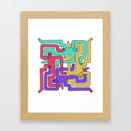 Nothing to See Here 1 Framed Art Print