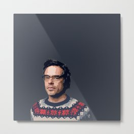 Jemaine Clement Metal Print