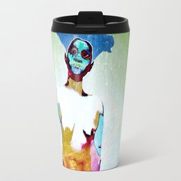 """""""Don't Listen to crappy music"""" by Nacho dung. Travel Mug"""