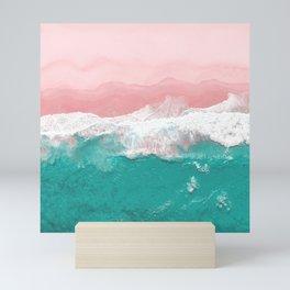 water ocean sea Mini Art Print