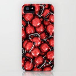 Kettlebells RED iPhone Case