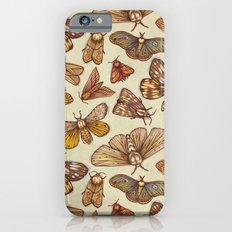 Moth Pattern Slim Case iPhone 6