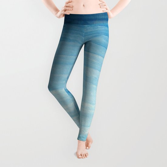 Cool face of the river Leggings