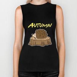 Autumn Biker Tank