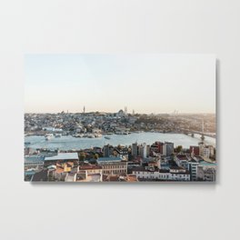 Perfect Turkish Sunsets - Istanbul, Turkey Metal Print