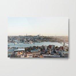 Perfect Turkish Sunsets - Istanbul, Turkey Metal Print
