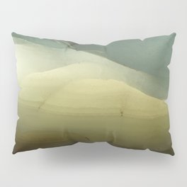 The ice that hides in the desert Pillow Sham