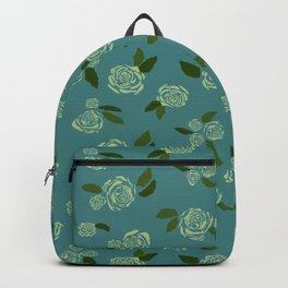 Scattered rose Backpack