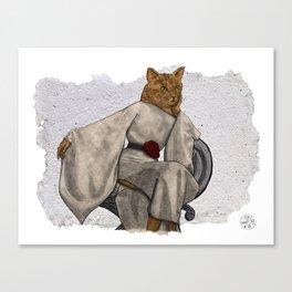 La Grande Dame, Couture Kitty Canvas Print