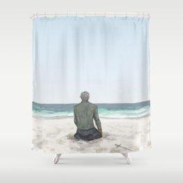 Rowan on the Beach Shower Curtain