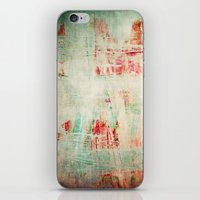 the strokes iPhone & iPod Skins featuring abstract strokes by Iris Lehnhardt