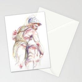 Menelaus & Patroclus Stationery Cards
