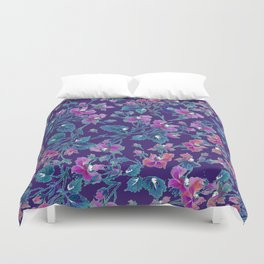 sophia roses by the sea Duvet Cover
