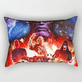 fight her severe heroes Rectangular Pillow