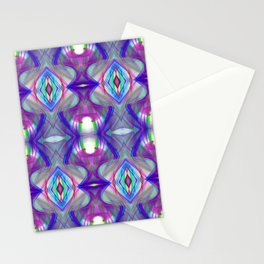 Abstract fractal pattern. Stationery Cards
