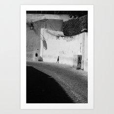 way to.... Art Print