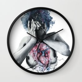 Dissonance Wall Clock