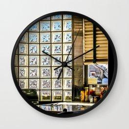 American Diner Wall Clock