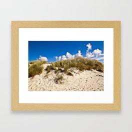 Summer Sand Dune of Denmark Framed Art Print