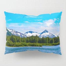 Portage Valley Summer - I Pillow Sham