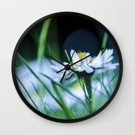 Cold Flower Wall Clock