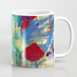 Fairy with Red Flowers Coffee Mug