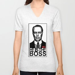 Boss of the Boardwalk Unisex V-Neck