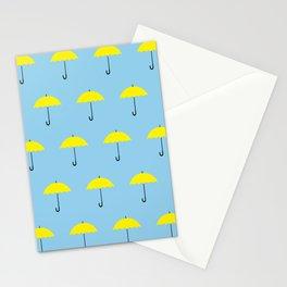 HIMYM Yellow Umbrella Stationery Cards
