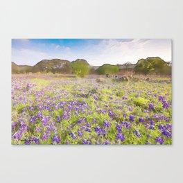 Bluebells Canvas Print