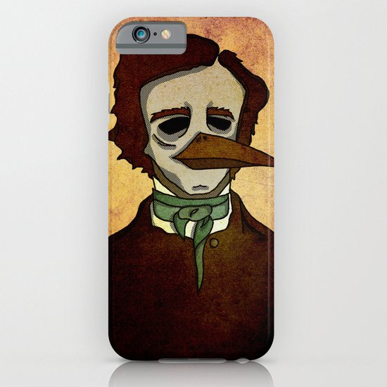 Prophets of Fiction - Edgar Allan Poe /The Raven iPhone & iPod Case