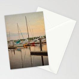 Wilmington City Docks on the Riverwalk Stationery Cards